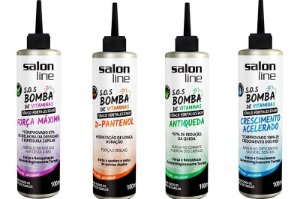 Salon Line - COMBO S.O.S Bomba de Vitaminas - Blend Completo 4 Tônicos