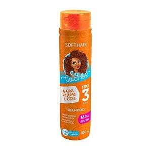 Shampoo Cachos #Que Volume é Esse - Tipo 3 - Softhair - 300ml
