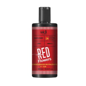 Red Flowers - Condicionador Revitalizante + Cor 300ml - Widi Care