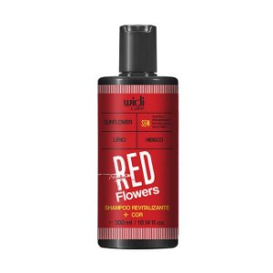 Red Flowers - Shampoo Revitalizante + Cor 300ml - Widi Care