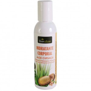 LiveAloe -Hidratante Corporal- Aloe e Cupuaçu - 150ml