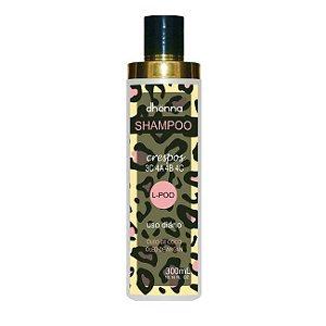 Dhonna - Shampoo Crespos L-Poo Uso Diário - 300ml