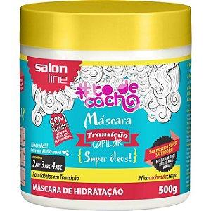 Salon Line #To de Cacho Máscara de Hidratação - Transição Capilar - 500g