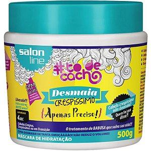 Salon Line #To de Cacho Máscara de Hidratação Desmaia Crespíssimo - 500g
