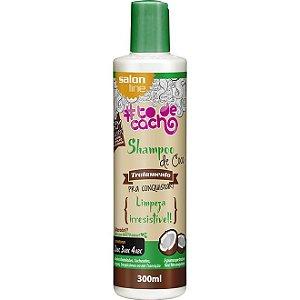 Salon Line #To de Cacho Shampoo de Coco - Tratamento pra Conquistar - 300ml