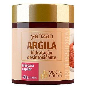 Yenzah Spa do Cabelo - Máscara Capilar Argila 480g