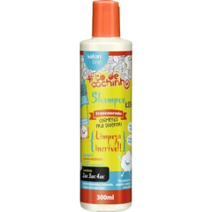 Salon Line Shampoo Kids #TodeCachinho - Limpeza Incrivel - 300ml