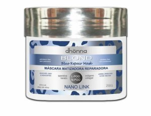 Dhonna - Máscara Matizadora Blond Blue Repair - 250ml