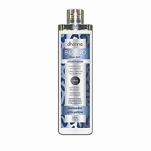 Dhonna - Shampoo Matizador Blond Blue-Poo - L-POO