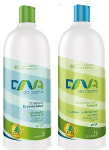 COMBO DNA do Cacho - Shampoo Espuma Leve + Multicondicionante Unique 1L - Salon Embelleze
