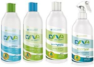 COMBO DNA do Cacho 4 itens com Shampoo Sem Espuma 300ml - Salon Embelleze