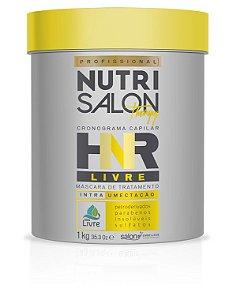 NutriSalon Therapy - Máscara de Tratamento HNR LIVRE Intra Umectação 1kg - Salon Embelleze