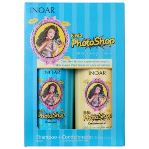 Inoar - Kit Efeito Photoshop Shampoo e Condicionador 250ml