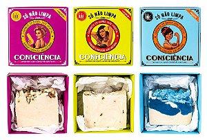 COMBO - Sabonetes em Barra Veganos - Lola Cosmetics