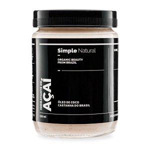 Hidratante Açaí 150ml - Simple Organic
