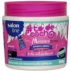 Salon Line Máscara Cheia de Onda - Brilho Extraordinário #Todecacho - 500g