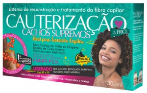 Cauterização Cachos Supremos 300ml - Hair Fly
