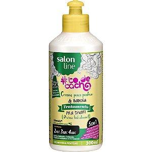 Salon Line Creme para Pentear de Babosa - Tratamento Pra Divar #Todecacho - 300ml