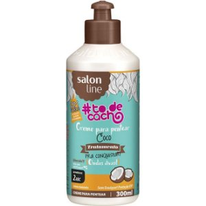 Salon Line #To de Cacho Creme para Pentear Coco - 2ABC - 300ml