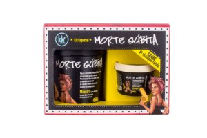 Kit Morte Súbita - Máscara 450g + Shampoo Sólido 100g - Lola Cosmetics