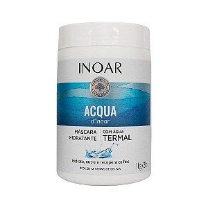 Acqua d'Inoar Máscara Hidratante com Água Termal 1 Kg - Inoar