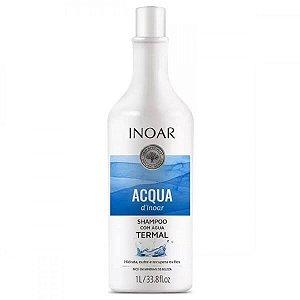 Acqua d'Inoar Shampoo com Água Termal 1L - Inoar