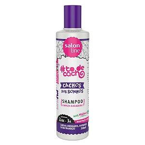 #To de Cacho Shampoo Cachos dos Sonhos 300ml - Salon Line