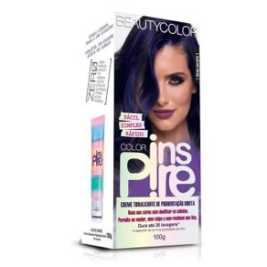 Creme Tonalizante Inspire Deep Purple 100g - Beauty Color