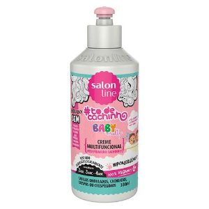 Creme Multifuncional Baby #TodeCachinho 300ml - Salon Line