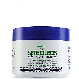 Sete Óleos - Máscara Nutritiva 300g - Widi Care