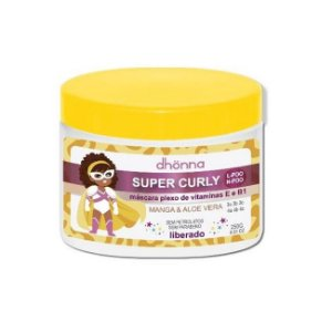 Máscara Infantil Super Curly 250g - Dhonna