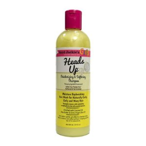 Heads Up Shampoo Hidratante 355ml Aunt Jackie's