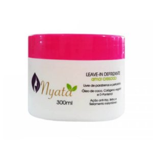 Leave-In Defrizante Amor Crescido 300ml - Nyata
