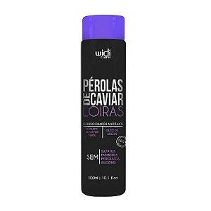 Condicionador Matizante Pérolas de Caviar Loiras 300ml - Widi Care