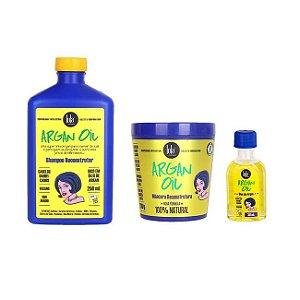 COMBO Kit de Tratamento Argan Oil - 3 passos - Lola Cosmetics