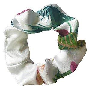 Xuxinha de Cetim Tropical Vibes - Turban
