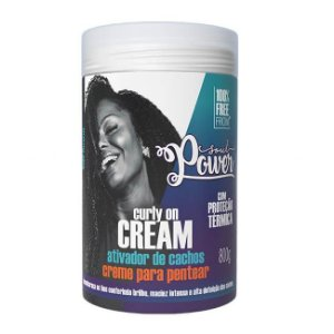 Creme Para Pentear Curly On Cream 800g - Soul Power