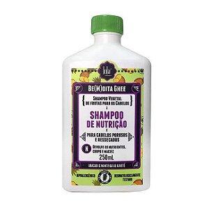 SHAMPOO BE(M)DITA GHEE NUTRIÇÃO ABACAXI 250mL - Lola Cosmetics