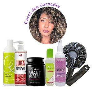 Combo Cacheados Exclusivo Curly Day - Carol dos Caracois