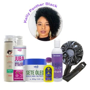 Combo Crespos Exclusivo Curly Day - Kelly Panther Black