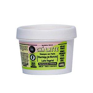Cha Latte Shampoo Em Pasta Matchá 100g - Lola Cosmetics