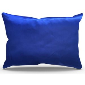 Fronha de Cetim Antifrizz Azul Royal - Turban