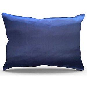 Fronha de Cetim Antifrizz Azul Marinho - Turban