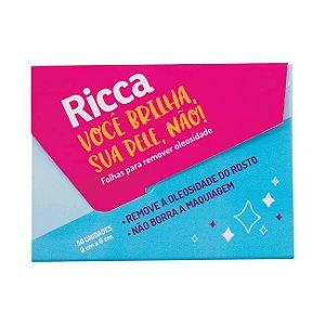 Lenço Removedor de Oleosidade - Ricca