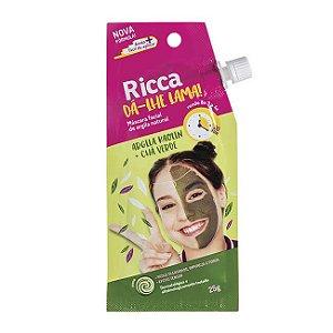 Máscara Facial de Argila Natural 25g - Ricca