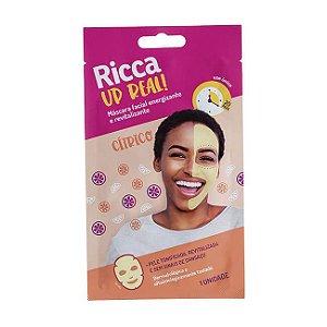 Máscara Facial Energizante e Revitalizante - Ricca