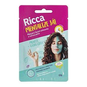 Máscara Facial Calmante e Refrescante 10g - Ricca
