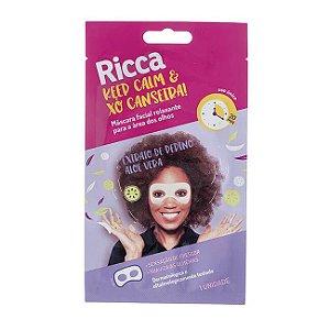 Máscara Facial Relaxante - Ricca