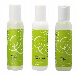COMBO DevaCurl Low Poo 120ml + One Condition 120ml + Angéll 120ml