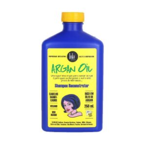 Shampoo Reconstrutor Argan Oil 250ml - Lola Cosmetics